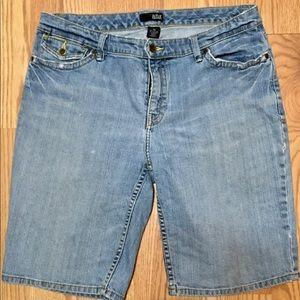 A.N.A. Distressed Jean Shorts size 10 Med